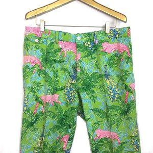 POLO GOLF Rare Jungle Loud Printed Pants \\ Sz 38